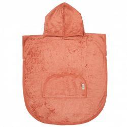 Poncho / Apricot Blush