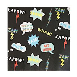 Super Hero Napkins Large