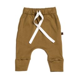 Drawstring Pants / Curry