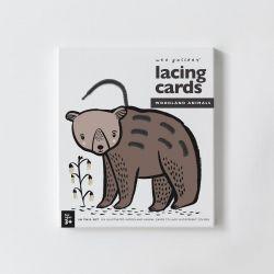 Lacing Cards / Woodland Animals