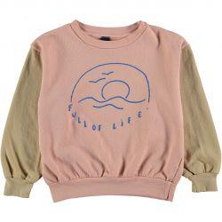 Sweatshirt Full Of Life / Dusty Pink